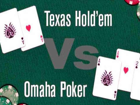 omaha vs texas holdem poker